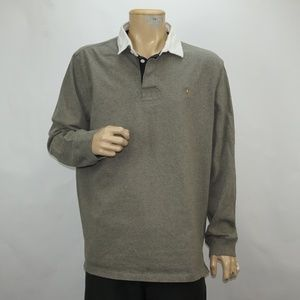 MENS POLO BY RALPH LAUREN LONG SLEEVE POLO SHIRT